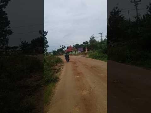 Kondisi Jalan Menuju Kampus USN Kolaka Di Tanggetada