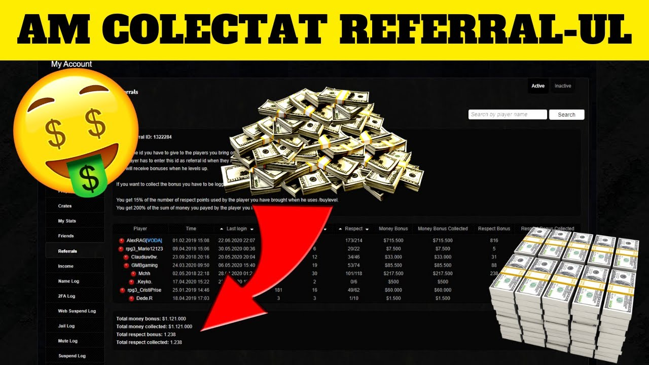 $1,100,000! AM COLECTAT REFERRAL-UL! #894