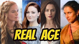 Beautiful Actresses Game of Thrones 2018 || American Tv Series || Real Age ||Drama