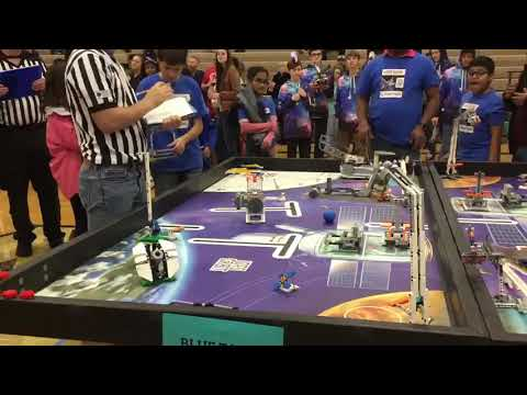 Robot Performance Match 2 . Vanston Middle School qualifier Mesquite