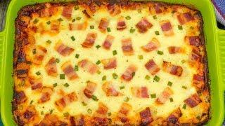 Cartofi Carbonara: odată ce-i gustați, nu veți mai face altfel cartofii | SavurosTV
