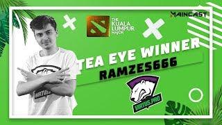 Tea Eye Winner RAMZES666 соревнуется с Lil за первенство