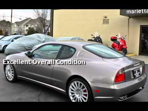2003 maserati coupe gt cambiocorsa for sale in marietta, ga - youtube