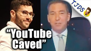 Glenn Greenwald Strongly Disagrees With Carlos Maza's Tactics