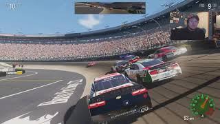 (lol wut) NASCAR Heat 2 Career Mode Hot Seat Xfinity Race At Bristol
