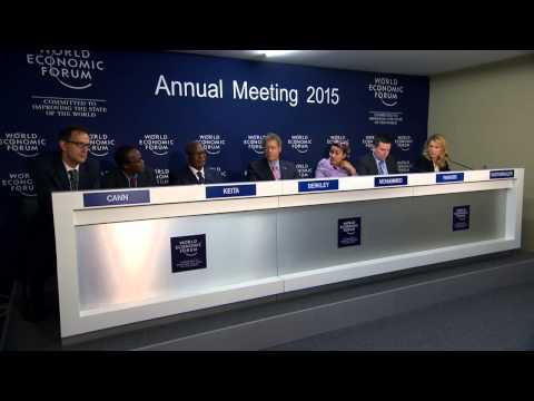 Davos 2015 - Press Conference GAVI   the Vaccine Alliance 15th anniversary