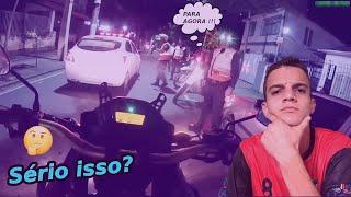 POLICIAIS sendo ENQUADRADOS por POLICIAIS (ABORDAM DO MESMO JEITO? )