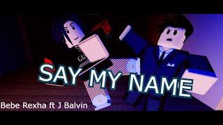 Say my name-David guetta ft Bebe Rexha & J Balvin-Roblox Music Video#6