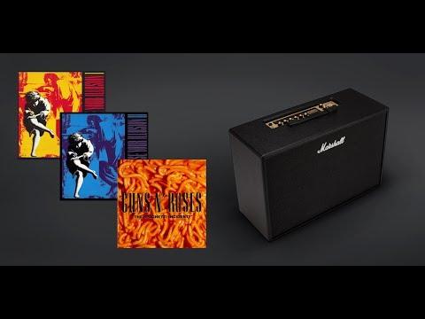 "Marshall CODE Guns N' Roses ""Use Your Illusion"" & ""The Spaghetti Incident?""  Slash's tone"