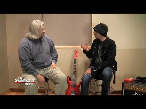 Sweetwater Minute, Vol. 30 - Interview with Joe Satriani  (1 of 2)