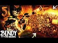 CHAPTER 5 BACON SOUP MINI-GUN VS EVERY BOSS!! O-O   Bendy and the Ink Machine [Chapter 4] Hacking