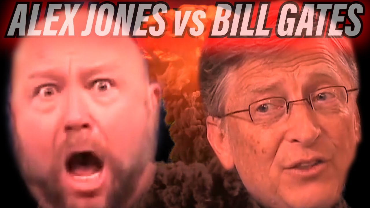 Alex Jones vs Bill Gates thumbnail