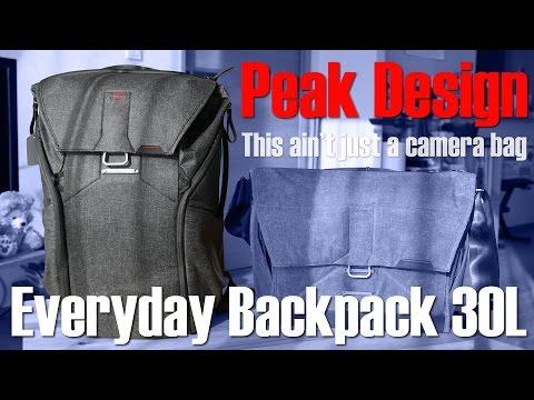 ついに日本上陸!ピークデザインのカメラバッグがやってきた!後編 / Everyday Backpack 30L