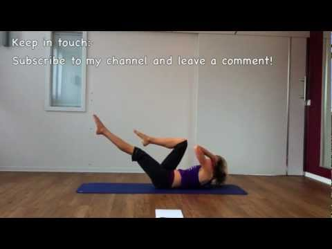 Waist Whittler: Shape your waistline and tone your abdominals with Bri!