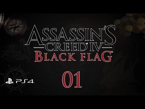 Assassin's Creed 4: Black Flag (PS4) - Прохождение Pt1 (100%)