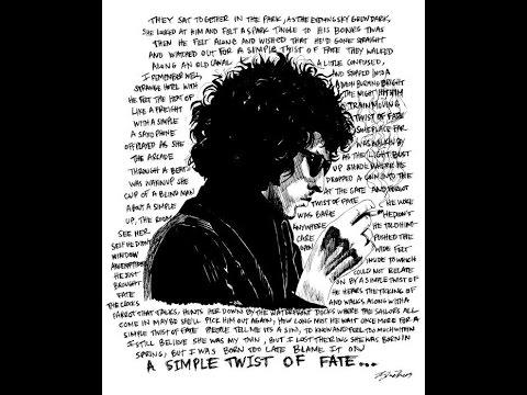 Simple Twist Of Fate lyrics