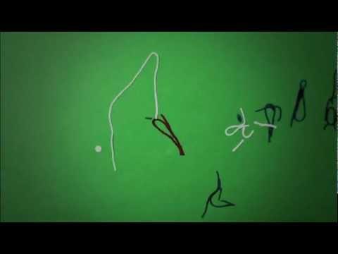 Euro 2012 animation in string (Richard Swarbrick)