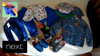 Обзор и примерка обновок от NEXT на мальчика Preview and trying on new boy's wear shoes from NEXT