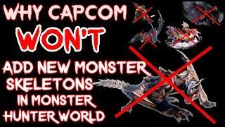 Why Capcom will NOT add new Monster Skeletons in Monster Hunter World