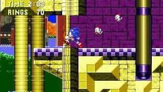 Sonic The Hedgehog 3 (Genesis) Launch Base Zone: Act 1