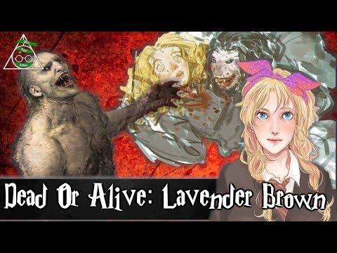 Is Lavender Brown Dead Or Alive?