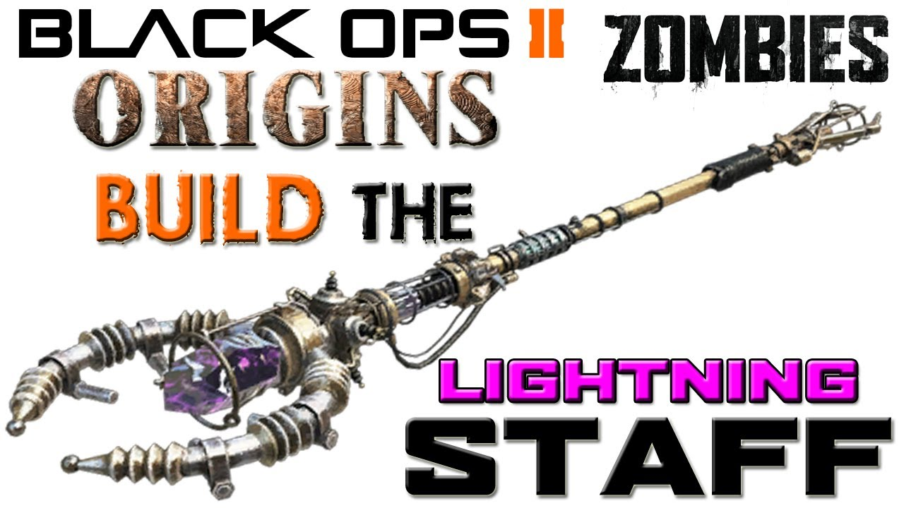how to get the staffs in origins black ops 3