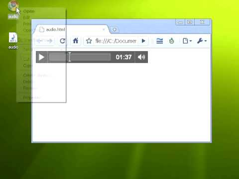 HTML5 AUDIO TAG AND AUTOPLAY