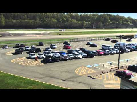 Jet sets off car alarms at the Museum of Flight - Seattle, Washington