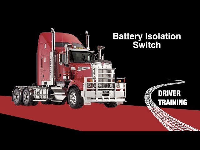 Kenworth T909 Master Switch