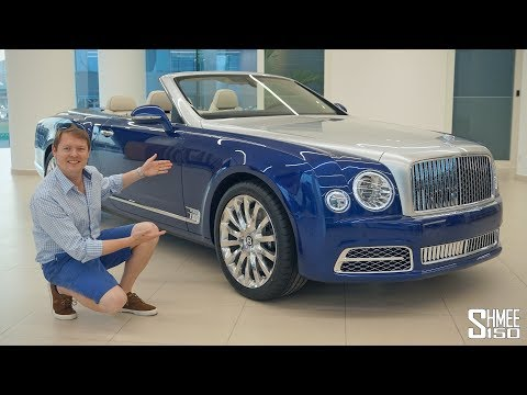 The $3.5 MILLION Bentley Grand Convertible | FIRST LOOK