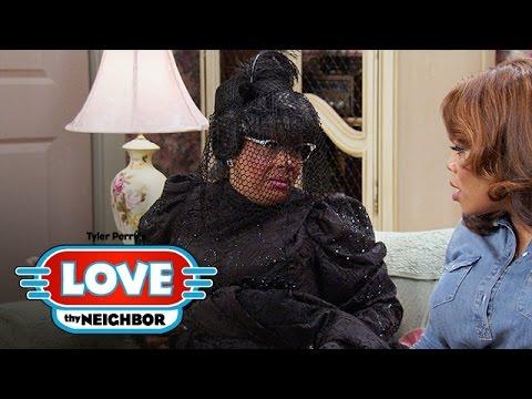 Will Linda Wear Hattie's Black Wedding Dress? | Tyler Perry's Love Thy Neighbor | OWN
