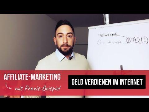 Geld verdienen im Internet mit Affiliate Marketing - Online Geld verdienen 2019