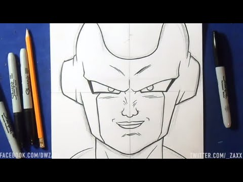 Comment Dessiner Freezer Dragon Ball Z Youtube