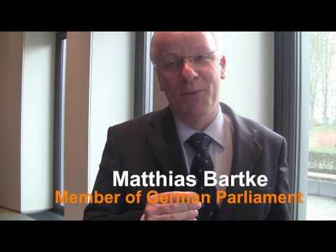 Interview with Matthias Bartke, German parliamentarian