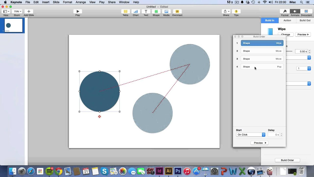 Keynote tutorials adding animation youtube ccuart Image collections