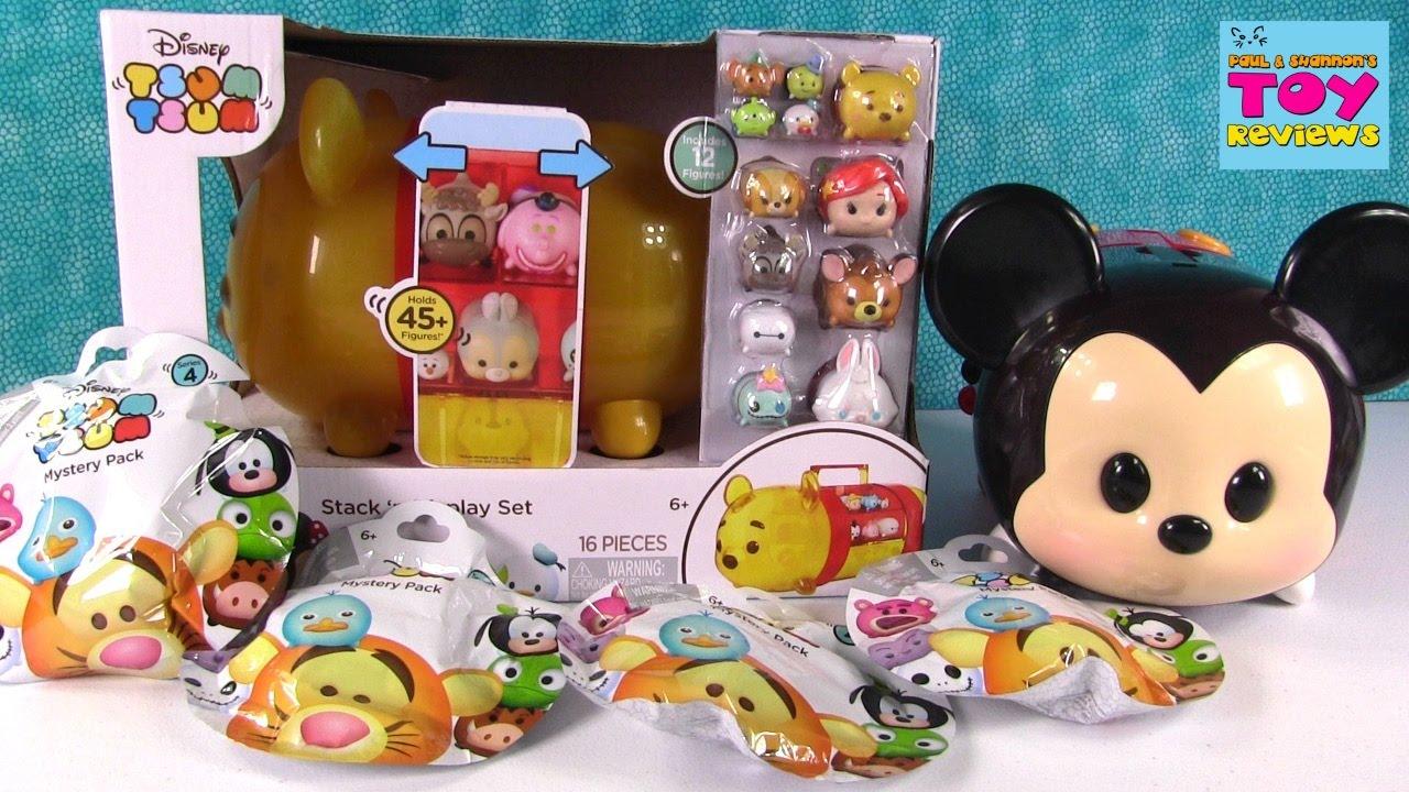 Disney Pooh Bear Tsum Tsum Vinyl Figure Case Blind Bag