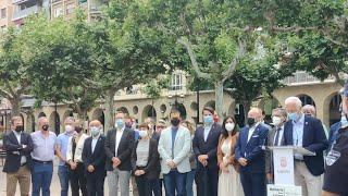 Acto homenaje a Miguel Ángel Blanco con intervención del alcalde de Logroño