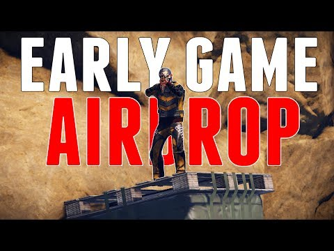LUCKY Early Game AIRDROP | Rust thumbnail