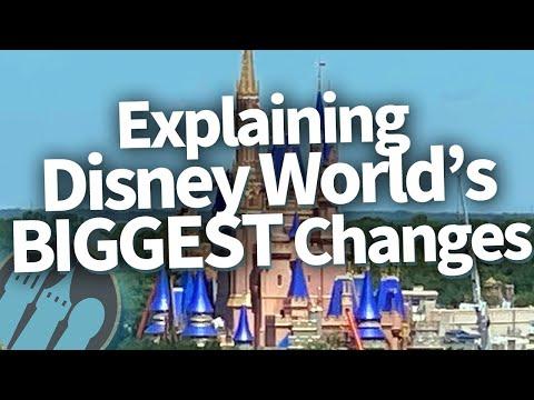 Explaining Disney World's BIGGEST Changes!