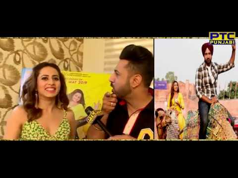 Candid Chat With Gippy Grewal & Sargun Mehta | Chandigarh Amritsar Chandigarh