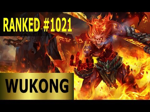 Wukong Jungle - Full League of Legends Gameplay [German] Lets Play LoL - Ranked #1021