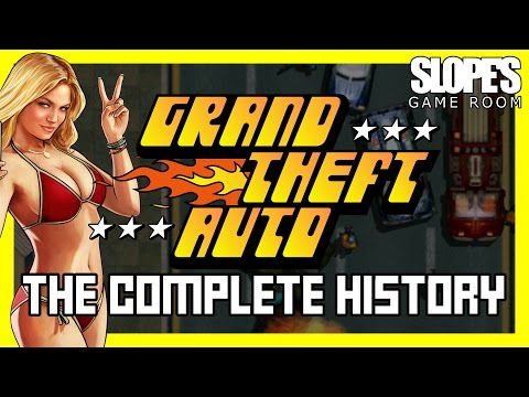 Grand Theft Auto: The Complete History - SGR