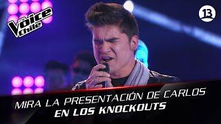 The Voice Chile | Carlos Velozo - Yo no me doy por vencido