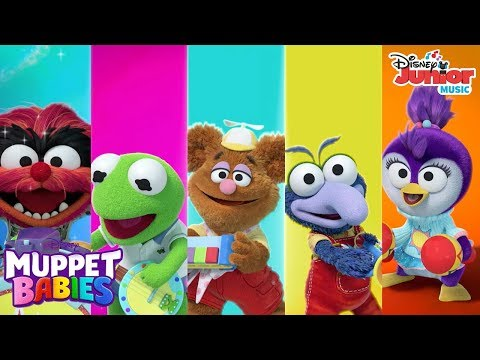 The Muppet Babies' Favorite Music Videos! | Compilation | Muppet Babies | Disney Junior