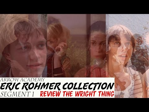 Arrow Academy Eric Rohmer Collection Segment 1 Blu-ray Review