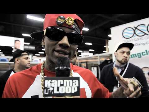 Soulja Boy & Ocean Gang Clothing @ S.L.A.T.E. [Las Vegas 2012]
