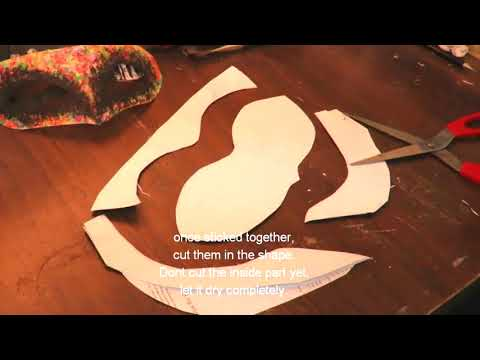 DIY MASQUERADE USING A PAPER | METHOD TWO|