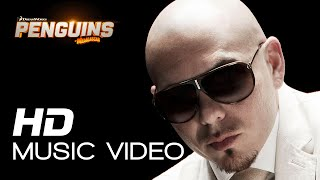 Pitbull - Celebrate | Music Video for Penguins of Madagascar 2014