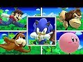 WHAT IF Every Character Tries To Do ALL SONIC TAUNTS in Smash Bros Wii U? (Smash Mods)