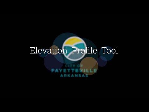 GIS Elevation Profile Tool